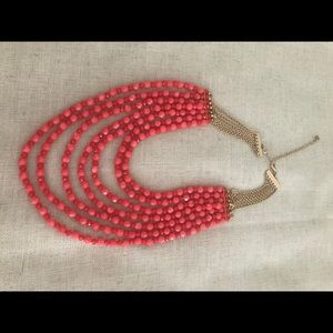 New Premier Designs Summer Chic Coral Necklace